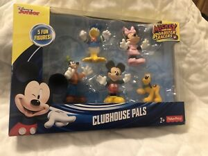 Fisher Price Disney Junior Mickey Mouse Clubhouse Pals 5 Fun Figures NEW