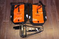 OMM front rack & Ortlieb Waterproof Classic pair of Saddle Bags, Panniers