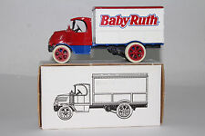 ERTL DIECAST 1926 MACK DELIVERY TRUCK, BABY RUTH CHOCOLATE, 1:38, BOXED
