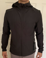 Lululemon Men Size XXL Warp Lite Jacket Packable Black BLK FullZip Hooded Vented