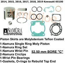 52.50mm 2014 Kawasaki KX100 Offroad Motorcycle Ring Set