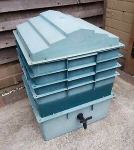 Worm City Wormery Worm Bin Composter 4 Tier