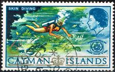 British Cayman Islands Scuba Diving Marine Life stamp 1967