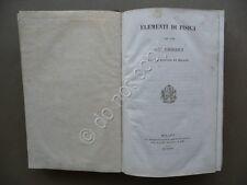 Elementi di Fisica ad Uso dei Chierici della Diocesi di Milano Besozzi 1848
