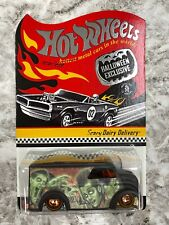 Hot Wheels Redline RLC Scary Dairy Delivery Black Halloween Adult Collectors Toy