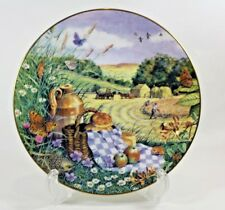Peter Barrett All Creatures Great Small Hay Harvest Plate 1987