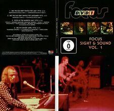 """Focus """"Sight & Sound Vol 1"""" Live 1972 - 1974! Laufzeit 124 Minuten! Neue DVD!"""