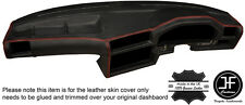 RED STITCH DASH DASHBOARD LEATHER SKIN COVER FITS BMW 3 SERIES E30 81-92 STYLE 2