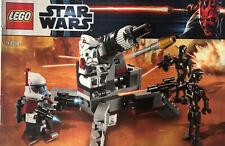 LEGO Star Wars 9488 Elite Clone Trooper & Commando Droid Battle Pack