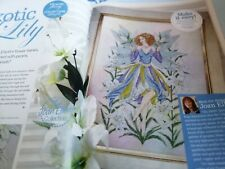 CROSS STITCH CHART JOAN ELLIOTT BEAUTIFUL LILY FAIRY CHART ONLY