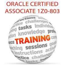 ORACLE CERTIFIED ASSOCIATE JAVA SE 7 EXAM 1Z0-803 - Video Training Tutorial DVD