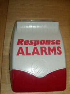 Response alarms 418mhz live siren parts only brand new but faulty.
