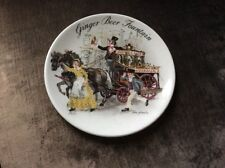 WEDGWOOD THE GINGER BEER FOUNTAIN DISPLAY PLATE 1986