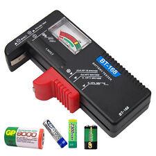 Universal Battery Tester AA AAA C D 9V Button Cell Checker Volt Tester Hot UK