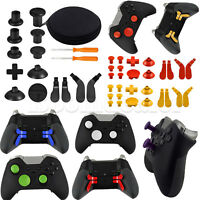 16pcs Controller Gamepad Joystick Buttons Repair Parts Set w/Tool for Xbox One