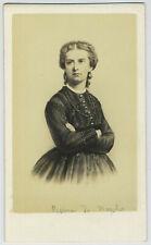 CDV. Marie-Sophie, Reine de Naples et des Deux-Siciles, sœur de Sissi. Neurdein