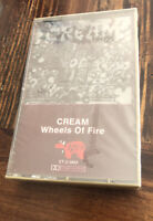 Cream Wheels of Fire Cassette Tape Eric Clapton New Old Stock Sealed