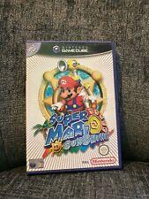 NINTENDO GAMECUBE Super Mario Sunshine Excellent Complete