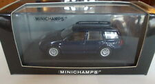 Minichamps 1/43 - vw BORA variant 1999 Blue Met