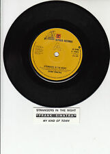 """FRANK SINATRA Strangers In The Night & My Kind Of Town 7"""" 45 rpm record NEW"""