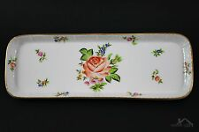 Herend Petit Bouquet de Rose Mint Tray White 7812 / PBR