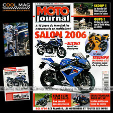 MOTO JOURNAL N°1679 YAMAHA YZF 1000 R1 SP ★ GUZZI 1100 GRISO ★ LIVIO SUPPO 2005