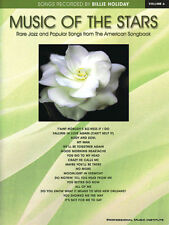 BILLIE HOLIDAY SONGBOOK PVG MUSIC OF THE STARS VOL 6 17 FABULOUS HITS - SUPERB!