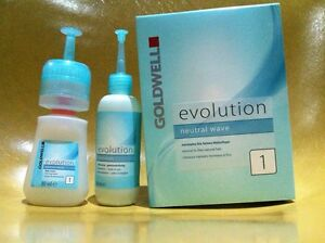 GOLDWELL evolution neutral wave normal to fine natural hair perm lotion 1