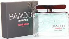 BAMBOO AMERICA 2.5 OZ EDT SPRAY FOR MEN BY FRANC OLIVIER & NEW IN A BOX