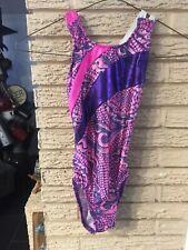 MorionWear Gymnastics Foil Leotard Beautiful Pink Size Ic 6X-7