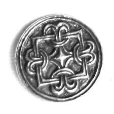Handmade Viking Borre Knot Disc Brooch Norse, Celtic, Odin.