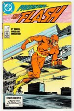 DC - Presenting THE NEW FLASH #1 - NM 1987 Vintage Comic