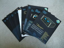 Mcintosh Original Preamp., Control,Cd, Am/Fm Literature Collection;15 Brochures