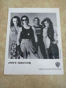 Jane's Addiction B&W 8x10 Promo Photo