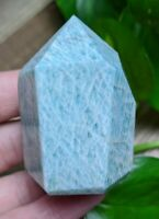 ONE (1) AMAZONITE Chunky Abstract Wand Crystal Reiki Charged *Read Below*