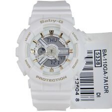 Casio Baby-G Womens Wrist Watch BA110GA-7A1 BA-110GA-7A1 Gold Accent Analog-Digi