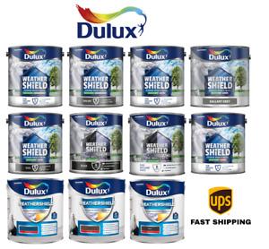 Dulux Weathershield Quick Dry Satin / Gloss / Undercoat / UPVC Paint 2.5L