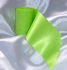 1 x Bright Green Wedding Car Ribbon 6m Long. Fits all cars