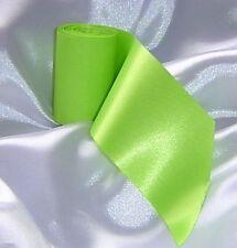 1 x Bright Green Wedding Car Ribbon 6m Long. Fits all cars