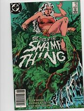 Swamp Thing #25 1st Cameo Appearance John Constantine 1984 Alan Moore
