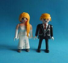 Playmobil Pareja de Novios  Novia rubia y Novio rubio Boda Wedding