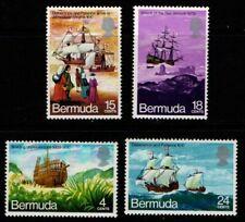 Bermuda 1971 Voyage of the Deliverance SG275-78 MNH