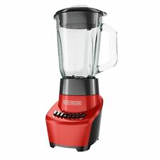 Black & Decker BLR1110RG-FSP 12-Speeds Blender Red