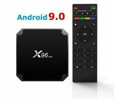 Dettagli su  X96 mini Smart TV Box 4 GB RAM 32 GB Android 9.0 Quad Core 3D