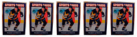 (5) 1992 Sports Cards #10 Mario Lemieux Hockey Card Lot Pittsburgh Penguins