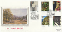 (05261) GB PPS FDC NT National Trust Tintagel 11 April 1995