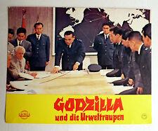 GODZILLA und die URWELTRAUPEN * I. HONDA - EA-AUSHANGFOTO #A - German LC 1974