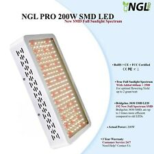 LED Grow Light 2x1000W New SMD Full Spectrum Veg Flower Indoor Hydroponics NGL