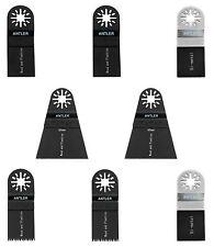 8 Antler Blades Combo A for Fein Multimaster Bosch Makita Oscillating Multitool