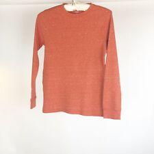 Urban Pipeline Childs Sz Large Thermal Orange Long Sleeved T-Shirt Tee